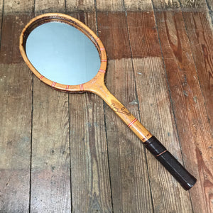 "SOLD - Vintage ""Grays Sunbeam"" Tennis Racket Mirror"