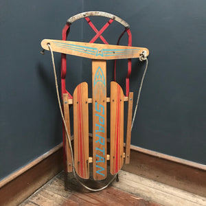SOLD - Vintage Canadian Spartan Sledge