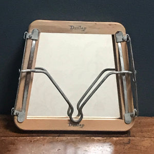 "NEW - Vintage ""Dunlop"" Tennis Racket Stretcher Mirror"