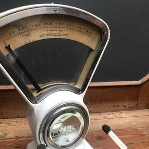 NEW - White Enamel Avery Weighing Scales