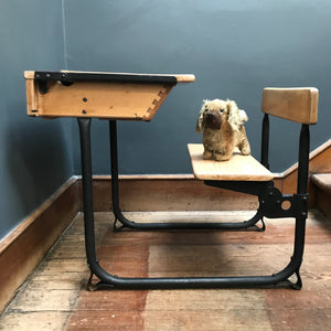 SOLD - Vintage Child's School Desk
