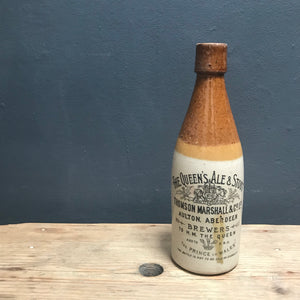 NEW - Vintage Aberdeen Stoneware Ginger Beer Bottle