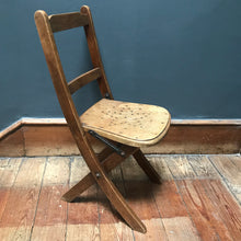 SOLD - Child's Vintage Folding Chair