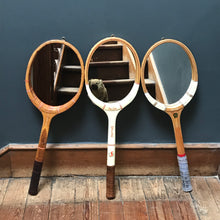 "SOLD - Vintage ""Starlite/Spalding"" Tennis Racket Mirror"