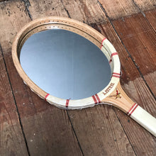 "SOLD - Vintage ""Kestral"" Tennis Racket Mirror"
