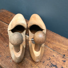 SOLD - Vintage Beech Shoe Lasts - Pair