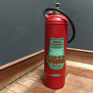 SOLD - Vintage Minimax Fire Extinguisher