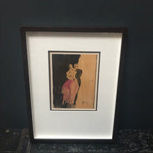 SOLD - French Plate Print
