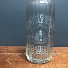 "SOLD - Vintage Etched Glass ""Hays Aberdeen"" Soda Syphon"