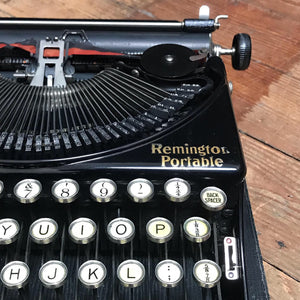 SOLD - Vintage Remington Portable Typewriter