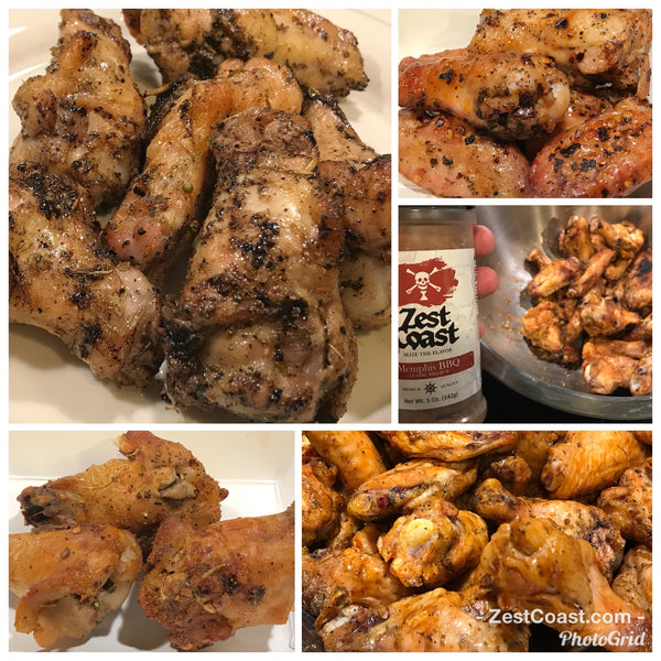 Crispy Oven Baked or Grilled Chicken Wings