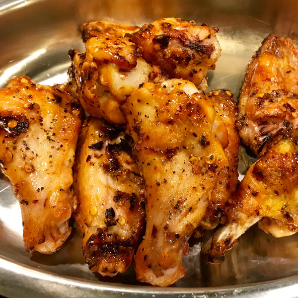 Game Time Grilled Chicken Wings - Carolina style