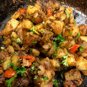 Coffee-Rubbed Breakfast Potatoes
