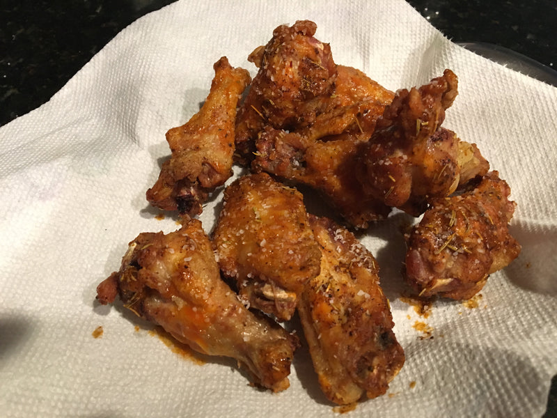 Chicken Wings, Crispy Fried