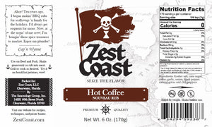Zest Coast Hot Coffee Rub