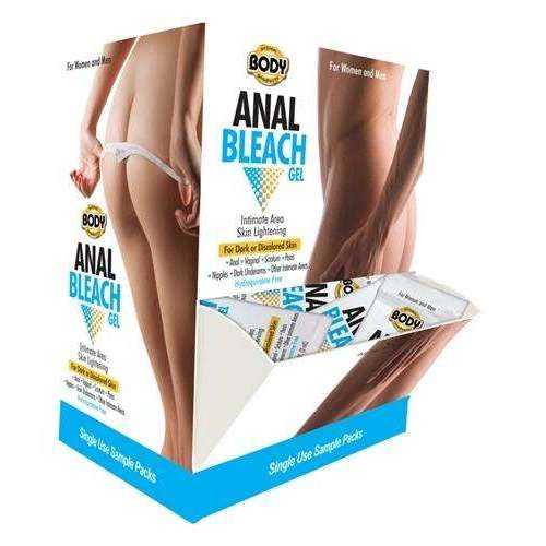 Body Action Anal Bleach Gel - 50 Pieces Display,Anal bleach,Top Sex Store