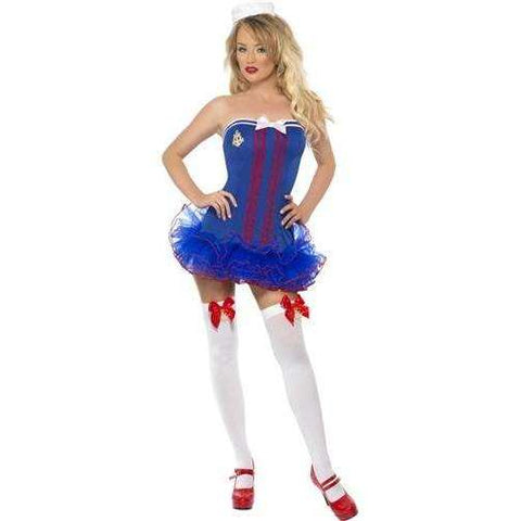 Fever Tutu Sailor Costume - Extra Small,Sailor,Top Sex Store