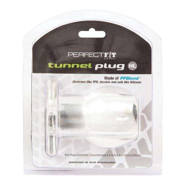 Perfect Fit XLarge Tunnel Plug - Clear,Butt plugs,Top Sex Store
