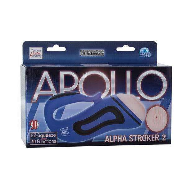 Apollo Alpha Stroker 2 - Blue Vagina,Pussy shaped masturbators,Top Sex Store