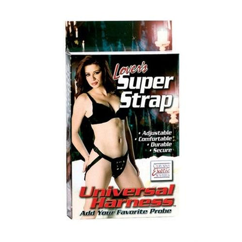 Lovers Super Strap - Universal Harness - Black