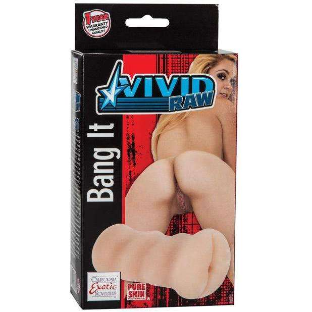 Vivid Raw Bang It - Ivory,Anal masturbators,Top Sex Store