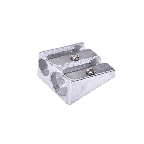 3PCS Metal Sharpener with two holes