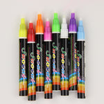 2PCS Fluorescent Chalk Marker Pen Reversible Tip