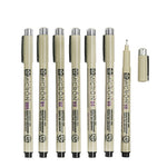 Pigma Micron Ink Pens (7 sizes)