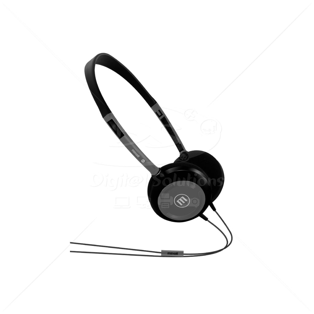 Headphones with Microphone Maxell HP-200 Bk