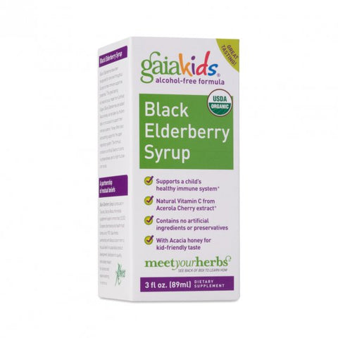 Kids Black Elderberry Syrup