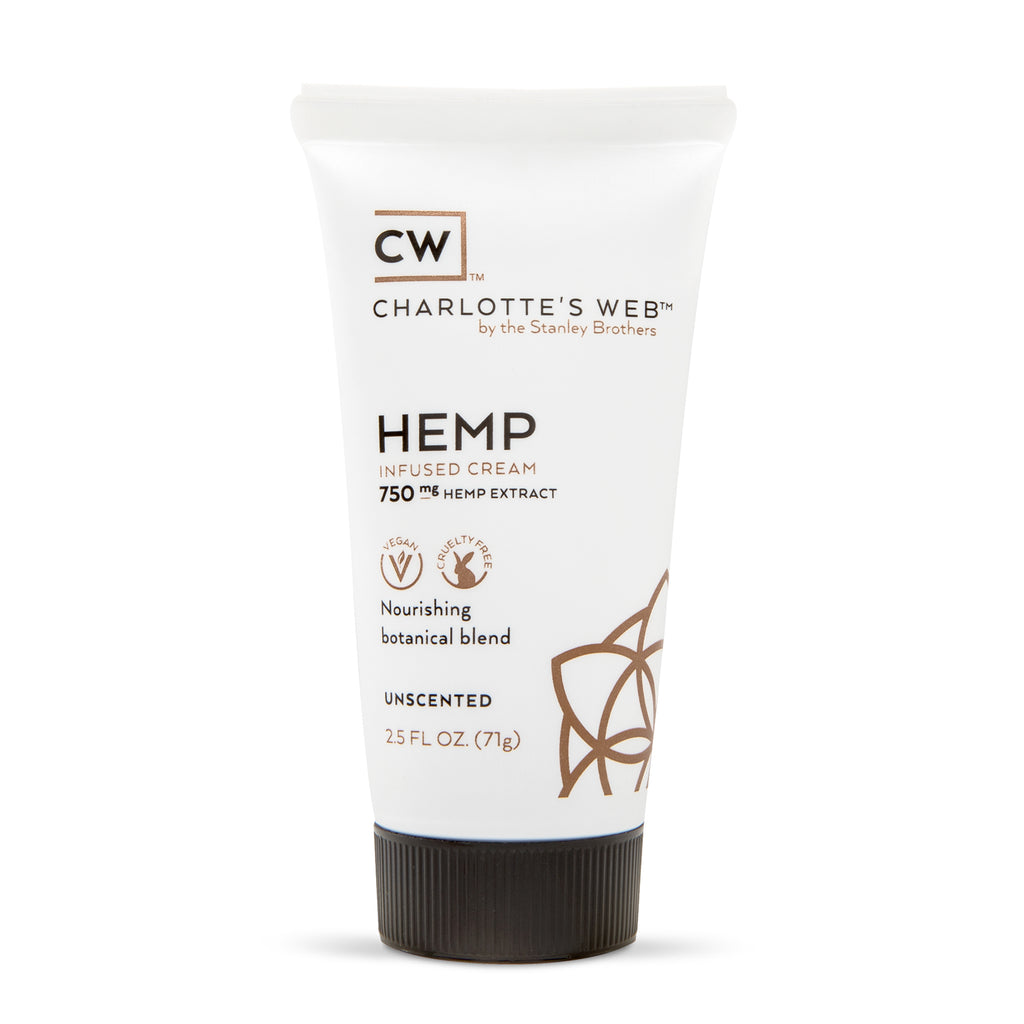Hemp Infused Cream 750mg - Unscented