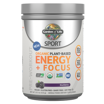 Sport Organic Plant-Based Energy +Focus