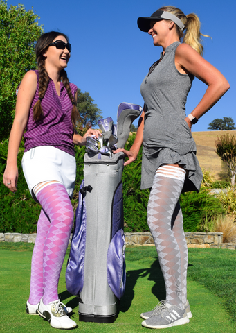 Kixies thigh highs golf collection