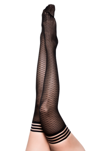 Beth Ann: A Deliciously Modern Take on the Traditional Fishnet. Petite to Plus Size