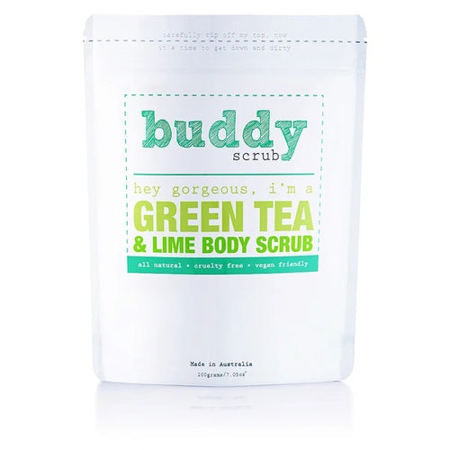 BUDDYSCRUB Green Tea Body Scrub