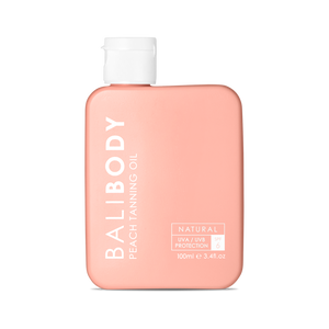 BALIBODY Peach Tanning Oil SPF6 - The Beauty Bar