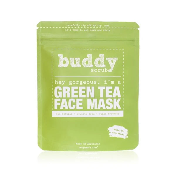 BUDDYSCRUB Green Tea Face Mask