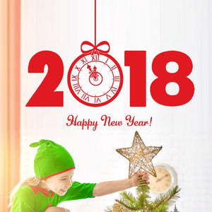 2018 Happy New Year Merry Christmas