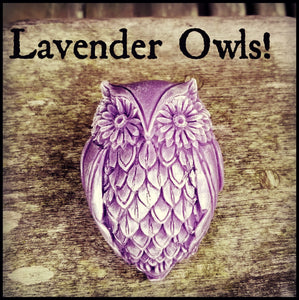 Lavender Owls - Custom Orders