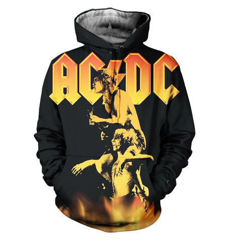 AC/DC 3D Allover Printed 11