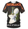 Image of Metallica 3D Allover Printed 11