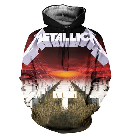 Metallica 3D Allover Printed 1