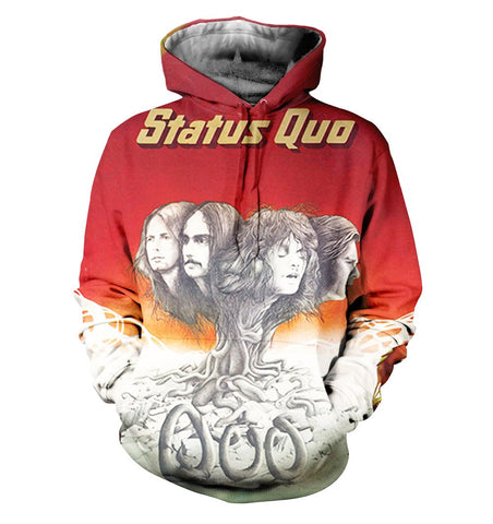 Status Quo 3D Allover Printed 1