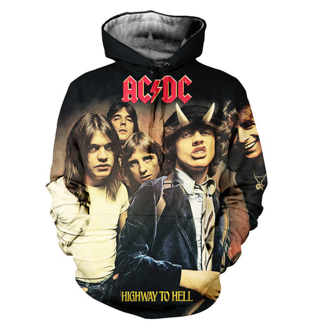 AC/DC 3D Allover Printed 12
