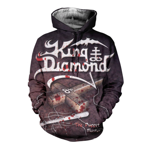 King Diamond 3D Allover Printed 4