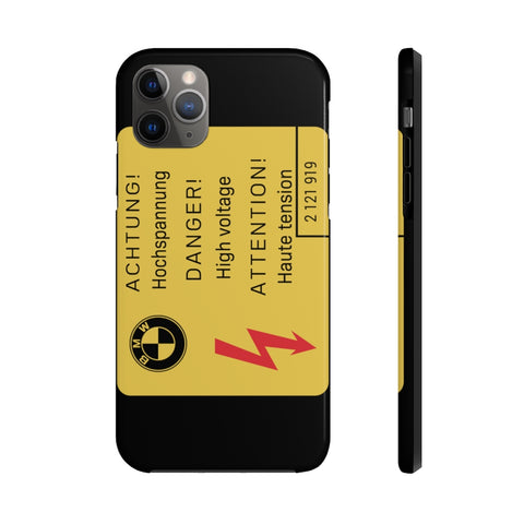 BMW Hochspannung Phone Cases for iPhones and Samsung