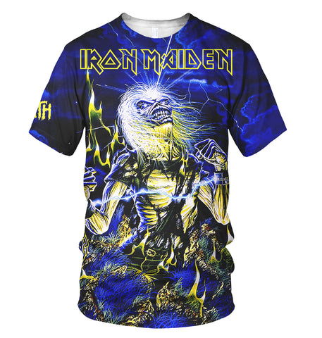 Iron Maiden 3D Allover Printed 18