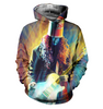 Image of Buckethead 3D Allover Printed Hoodie 1
