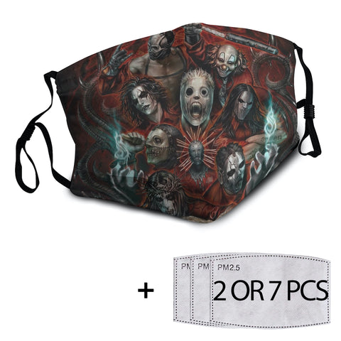 Slipknot Reusable Mask with PM2.5 Filter - 1