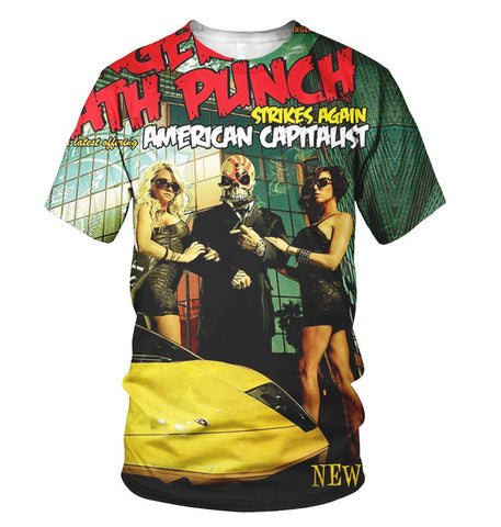 Five Finger Death Punch 3D Allover Printed 1